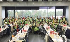 北海道コンサドーレ札幌を陰ながら支える CVS(コンサドーレボランティアスタッフ)