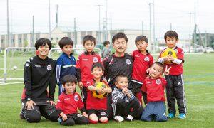 子どもの運動能力や自主性、協調性を学ぶ 「コンサドーレサッカースクール」