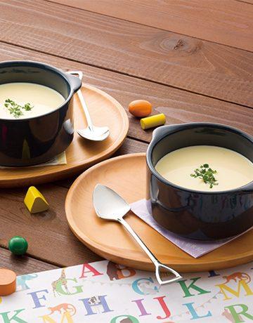とうもろこしとさつまいものスープ